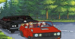 Varaces The Car Chase Movie Database Varaces Topic German Car